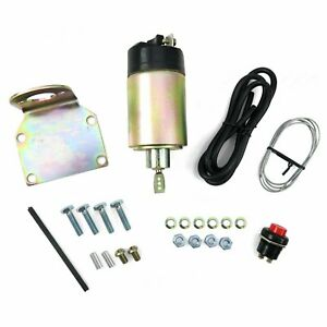 New 100lb solenoid shaved door kit popper Kit hot rod rat rod complete