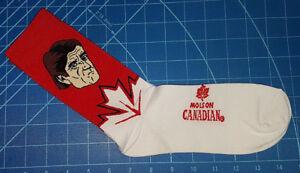 Molson Canadian Mike Babcock Socks. World Cup of Hockey 2016 New.