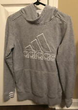 Very Lightly Worn Adidas Pullover Hoodie Gray Youth Small Boys