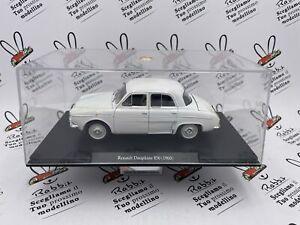 """Die Cast """" Renault Dauphine 850 (1960) """" Auto Vintage Échelle 1/24"""