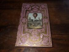1855.Navigation aérienne (1ère ed.montgolfiere.cartonnage romantique).Mangin