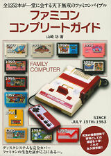 Famicom Complete Guide Book Family Computer NES Nintendo Covers 1252 Games