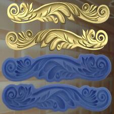 Gießformen Verzierung Silikonformen Gips Ornament Relief Deckenverzierung  (206)