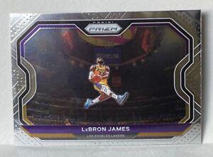 2020-21 Panini Prizm LEBRON JAMES Kobe Bryant Tribute Dunk #1 Lakers