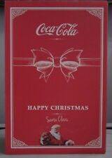Coca-Cola Collectors Box 2013 Glass Bottle Belgium Santa Claus Happy Christmas