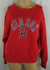 Boston Red Sox MLB G-III 4her Women's Long Sleeve Pullover Logo Sweatshirt