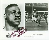 Roosevelt Rosey Brown New York Giants HOF Rare Signed Autograph Photo PSA DNA