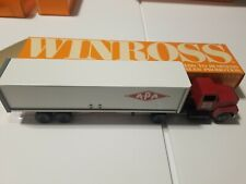 APA Transport North Bergen NJ Winross Truck Trailer DIECAST IN ORIGINAL BOX