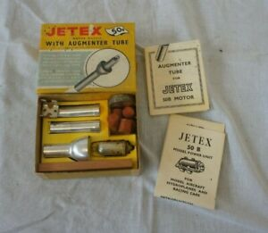Jetex 50B Motor Outfit with Augmenter Tube in Original Box