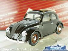 VOLKSWAGEN BEETLE MODEL CAR 1947 1:43 SCALE BROWN OPEN ROOF VITESSE 401.2 VW K8
