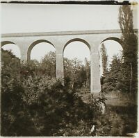 Francia Viaduc c1910 Foto Stereo Placca Da Lente VR12g