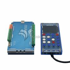 6 AXIS CNC 2000KHz USB Mach3 Card Controller Stepper Motor Driver with Handwheel