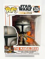 Star Wars THE MANDALORIAN #326 FUNKO POP NEW - SOLD OUT - w/ Protector - In Hand