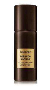 Tom Ford Tobacco Vanille All Over Body Spray 5.0oz 150ml - BRAND NEW - No Box