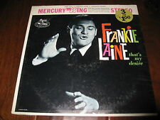 Frankie Laine That's My Desire Record SEALED lp Pop Vocal Jazz Mercury Wing