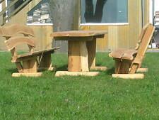 Gartenmöbel, Sitzgruppe, Eiche, 150 cm
