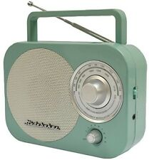 Studebaker Portable AM/FM Radio in Teal STUD-SB2000TE Misc