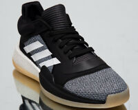 adidas Marquee Boost Low Men's New Black White Basketball Sneakers Shoes D96932