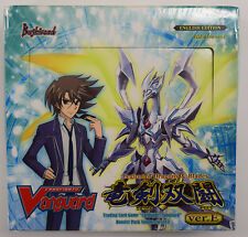 Cardfight Vanguard Legion of Dragons and Blades Sealed Booster Box VGE-BT16