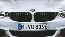 BMW X2 OEM BLACK KIDNEY GRILLE SET M PERFORMANCE