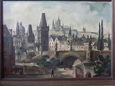 Künstlerische Öl-Malerei mit Fuchs-Motiv