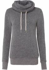 SUPERDRY-  Sweatshirt NORDIC FUNNE grau meliert *K90* NEU Gr 36 S 2171N