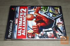 Marvel: Ultimate Alliance 2 (PlayStation 2, PS2 2009) FACTORY SEALED! - EX!