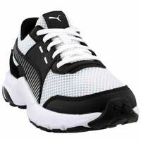 Puma Future Runner Premium Lace Up Sneakers  Casual   Sneakers White Mens - Size