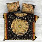 Indian Astrology Mandala Urban Outfitters Queen Doona Duvet Cover Pair Pillow