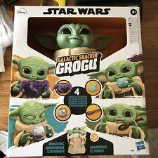 Star Wars The Mandalorian Galactic Snackin' Grogu Animatronic Figure Baby Yoda