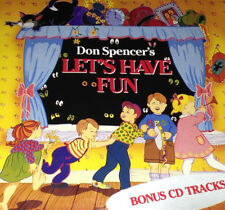 Don Spencer's Let's Have Fun CD Super Rare 1990 In The Jungle ABC For Kids