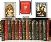N.C. WYETH ADVENTURE SERIES COMPLETE 14 Vol - Easton Press -MOST SEALED! 7 wBOXs