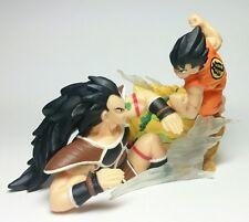 Bandai Dragonball Z Kai HG Imagination Gashapon Part 8 Figure Raditz vs Goku