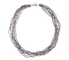 Victorian Cut Steel Bead Necklace