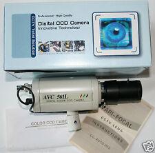 AVC 561LP/NL Avtech Digital CCTV Colour Camera Vari-Focal Lens Not Working Dummy