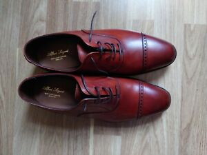 Alfred Sargent New Brown Oxford Mens Shoes New with Box UK Size 8.5