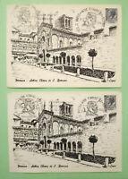 Lotto 2 CARTOLINE Annullo Speciale 5°Centenario Nascita L.Ariosto 1974 Ferrara