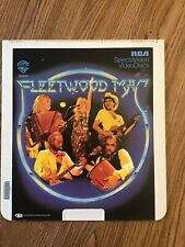 'Fleetwood Mac' 1980 CED videodisc documentary + concert in ex cond U.S.A.