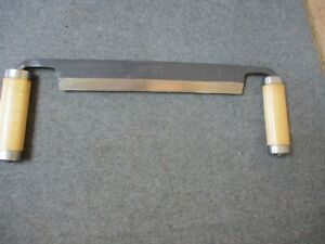 Vintage Snow & Nealley Draw Knife