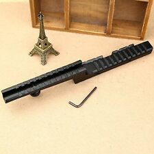 Tactical Compact Bi-Level Z Carry Handle 20mm Picatinny Weaver Rifle Rail Mount