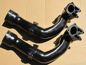 Mercruiser 3.0L Old Design Upper Lower Exhaust Pipes 96106A 1 96107A 1 95870A 4