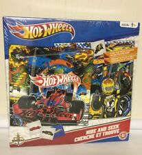 Hot Wheels Hide And Seek SEALED NEW Game No Reading Required French HTF Cars