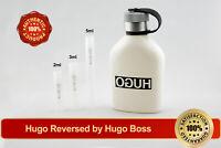 Hugo Reversed by Hugo Boss 2ml 3ml 5ml Decant Sample Vial Spray AUTHENTIC