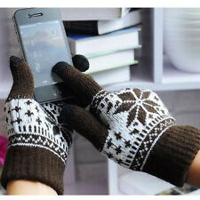 Touch Screen Knitted Gloves Men Gloves For Tablet Phone Drive Random Color