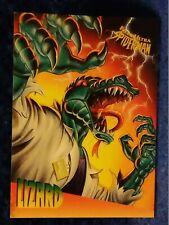 1995 Fleer Ultra Spider-Man Insert Trading Card Ralston Foods #3 of 5 Lizard