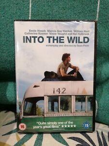 INTO THE WILD VINCE VAUGHN EMILE HIRSCH WILLIAM HURT PARAMOUNT UK DVD NEW