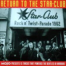 RETURN TO THE STAR CLUB . MOJO PROMO CD . BEATLES HAMBURG