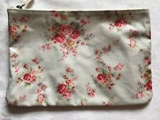 Cath Kidston Floral Oil Skin Soap Wash Toiletry Cosmetic Travel Makeup Bag