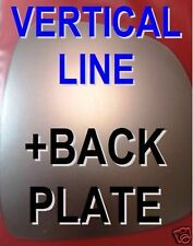 Mercedes Vito 2010-2014 left side heated convex mirror glass /& plate 405LSHP