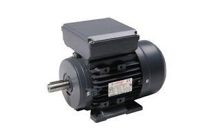 Electric Motor 0.25kW - 3.7kW Single Phase 1500 / 3000 RPM - B3 B5 B14 B34 B35